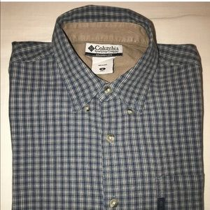 Columbia Shirts - COLUMBIA SPORTWEAR COMPANY PLAID SHIRT SIZE M